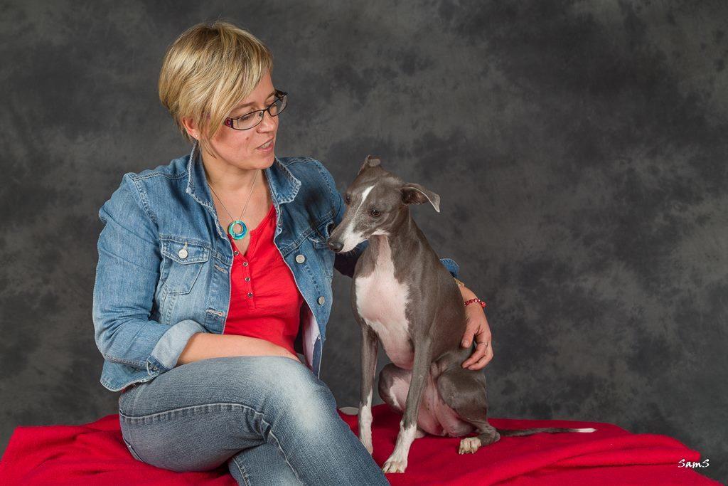 Fiona Mulot et la belette - Cyno'Logik