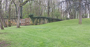 Balade Fort Queleu Metz - fin de balade - Cyno'Logik